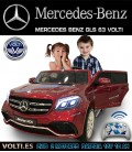 MERCEDES BENZ GLS 2 PLAZAS, PINTADO GRANATE METALIZADO