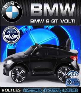 BMW 6 GT COCHE ELECTRICO COLOR NEGRO