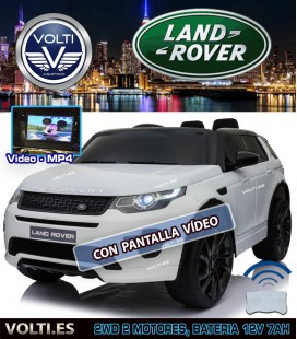 LAND ROVER DISCOVERY SPORT CON PANTALLA VIDEO COLOR BLANCO