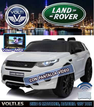 LAND ROVER DISCOVERY SPORT CON PANTALLA VIDEO COLOR BLANCO