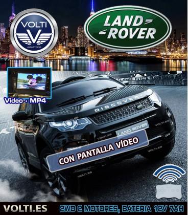 LAND ROVER DISCOVERY SPORT CON PANTALLA VIDEO COLOR GRANATE METALIZADO PINTADO