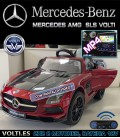 MERCEDES SLS AMG VOLTI FINAL EDITTION GRANATE PINTADO FIBRA CARBONO
