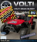 BUGGY ELECTRICO VOLTI GRAN VOLTI 4 PLAZAS 4X4 PANTALLA VIDEO