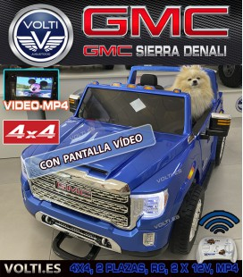 4X4 GMC 4 RUEDAS MOTRICES VERSION SUPERIOR