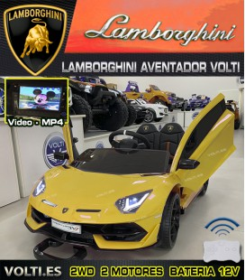 LAMBORGHINI AVENTADOR CON PANTALLA VIDEO MP4