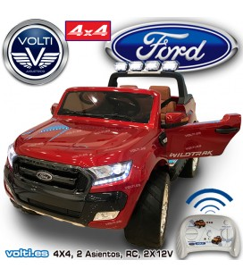FORD RANGER PARA NIÑO 4 RUEDAS MOTRICES TRACCION TOTAL