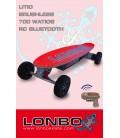 skate electrico litio LONBO motor 700 Watios