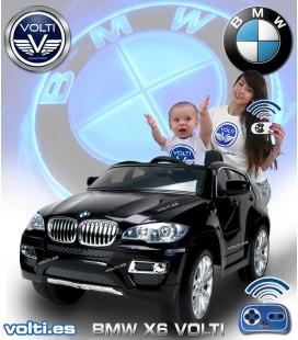 BMW X6 para niños coche electrico