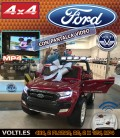 FORD RANGER 4 RUEDAS MOTRICES TRACCION TOTAL GRANATE METALIZADO PINTADO
