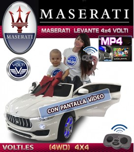 MASERATI LEVANTE 4 RUEDAS MOTRICES