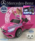 COCHE MERCEDES BENZ AMG SL 65 COLOR ROSA