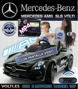 MERCEDES SLS AMG para niños Final edition