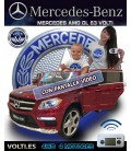 MERCEDES GL 63 AMG VERSION 4X4 COCHE ELECTRICO INFANTIL