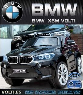 BMW X6M COCHE PARA NIÑOS COLOR NEGRO