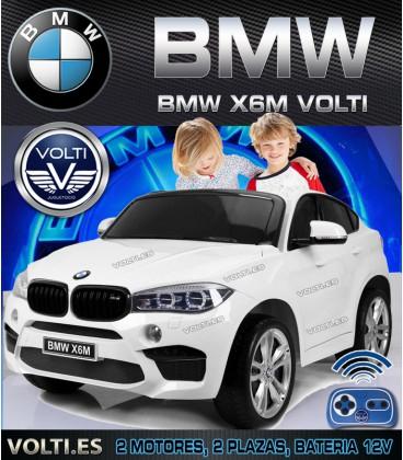 COCHE ELECTRICO INFANTIL BMW X6 BIPLAZA