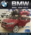BMW X6M COCHE ELECTRICO PARA NIÑOS COLOR GRANATE PINTADO