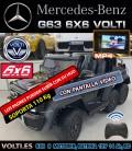 MERCEDES BENZ AMG G63 6X6 6 RUEDAS MOTRICES, EDICIÓN LIMITADA ,PANTALLA VIDEO