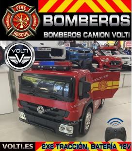 CAMION DE BOMBEROS PARA NIÑOS VOLTI