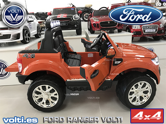 coche-para-niños-ford-ranger-electrico-con-mando-volti