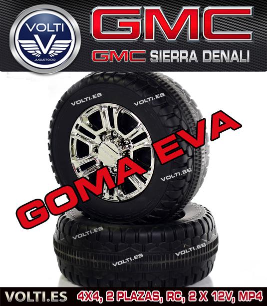 gmc-todoterreno-4x4-para-ninos-coches-volti-gmc-sierra