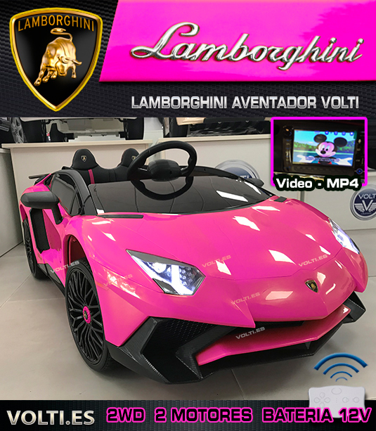 coche-rosa-infantil-