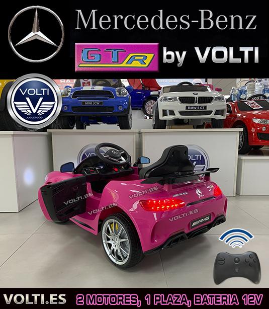 coche-rosa-mercedes-gtr