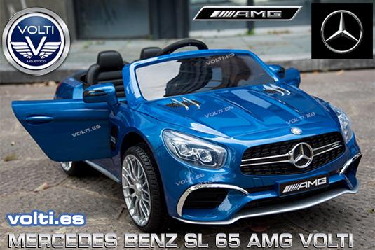 MERCEDES BENZ AMG SL 65 PARA NIÑOS