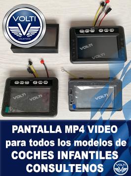 pantalla mp4 video